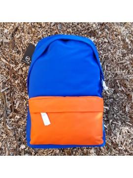 Alexander Mcqueen rugzak blauw oranje