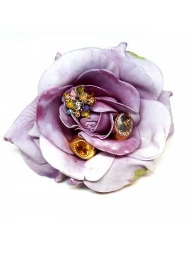 Impressie ringen bloem